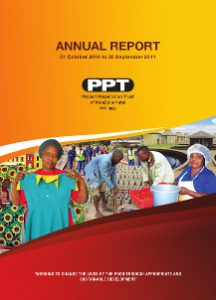 PPT 2011 Annual report cover
